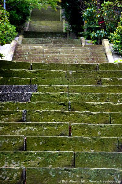 八代神社の階段