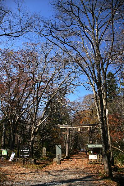 戸隠神社奥社の大きな鳥居
