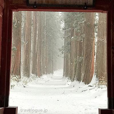 冬の戸隠神社への行きかた(路線バス)写真有り