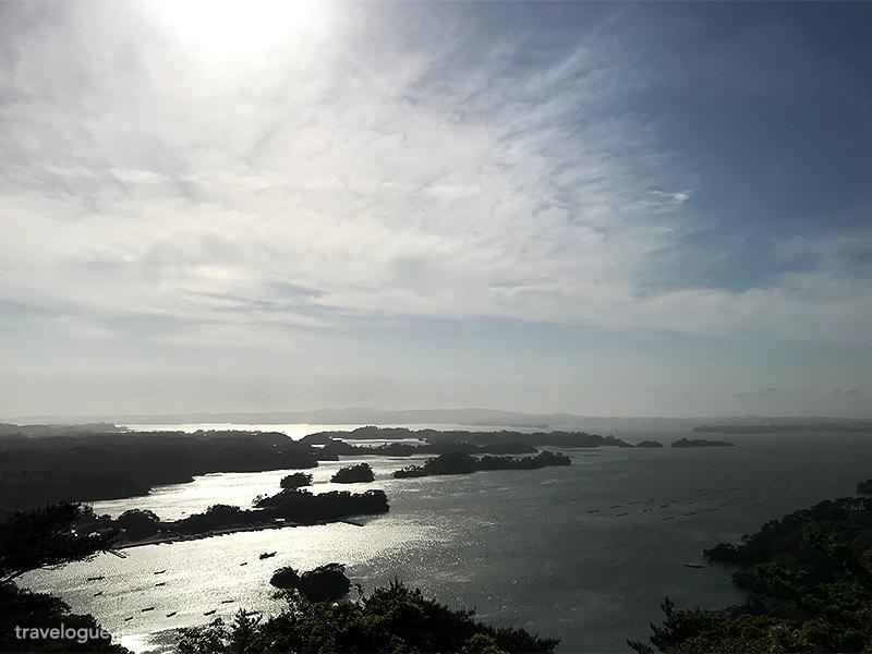 大高森から見た松島湾