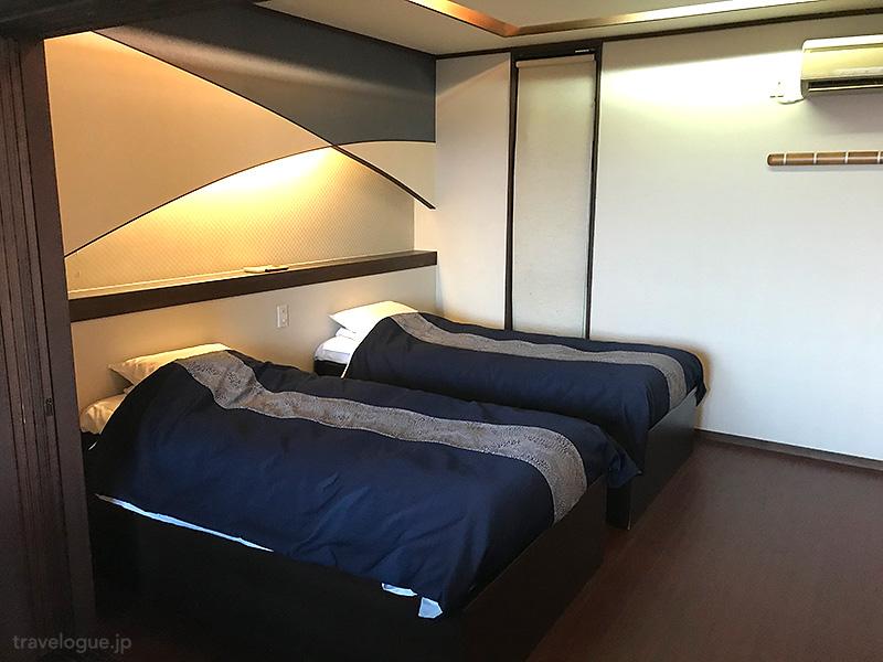 茉莉風のベッドルーム