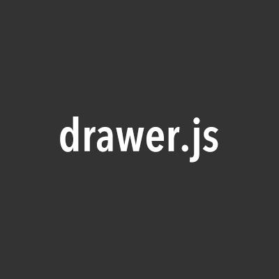 Drawer(drawer.js)の見た目をカスタマイズするCSSの書き方