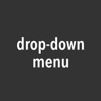 CSSだけで作る超簡単ドロップダウンメニュー